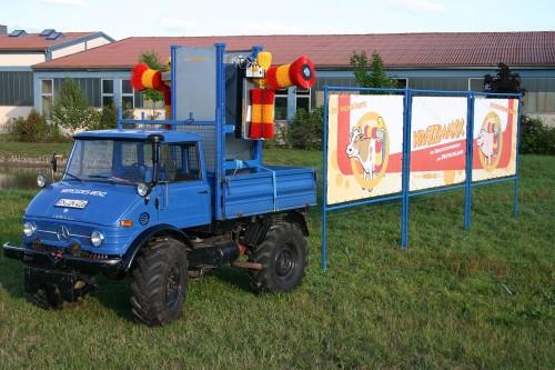 Das blaue Ding und die KRAZZMAXX Viehbürste